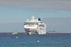 Norwegian Dawn. Cruise Ship. It entered service in 2002 and is in operation with Norwegian Cruise Line Stock Images