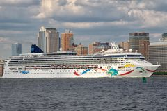 Norwegian Dawn Cruise Ship Stock Images