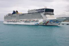 Norwegian EPIC in Jamaica Stock Image