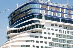 Norwegian EPIC rooftop. Norwegian Cruise Line's ship Norwegian EPIC visiting Ocho Rios, Jamaica Stock Photo