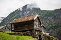 Norwegian Farm Building Royalty Free Stock Image