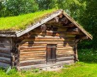 Norwegian Farm House Stock Photos