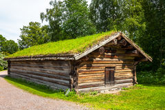 Norwegian Farm House Royalty Free Stock Photos
