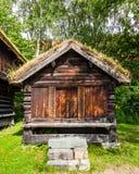 Norwegian Farm House Stock Photography