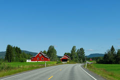 Norwegian Farms stock photos