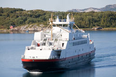 Norwegian ferry Royalty Free Stock Images