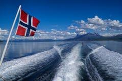 Norwegian ferry Royalty Free Stock Photos