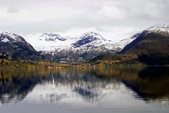Norwegian fiord stock photo