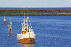 Norwegian fishing boat Royalty Free Stock Photography