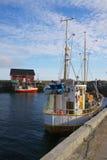 Norwegian fishing boat Royalty Free Stock Images