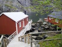 Norwegian fishing community Royalty Free Stock Photo