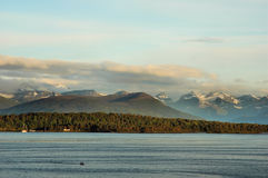 Norwegian fjord Royalty Free Stock Photography