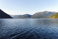 Norwegian fjord. Stock Photography