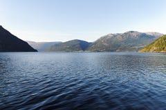 Norwegian fjord. Stock Photography