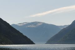Norwegian fjord. Stock Images
