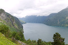 Norwegian fjord. Stock Image