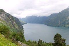 Norwegian fjord. Stock Image