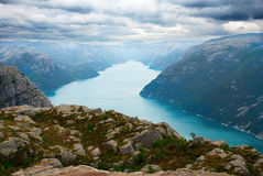 Norwegian Fjord Stock Photo