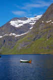 Norwegian fjord Stock Photos