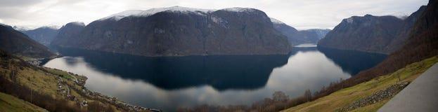 Norwegian fjord Royalty Free Stock Photos