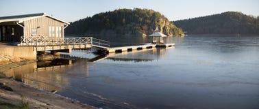 Norwegian fjord Stock Photography