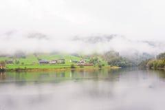 Norwegian Fjord View Stock Photo