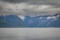 Norwegian Fjord Stock Images