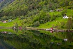 Norwegian Fjord Royalty Free Stock Photo