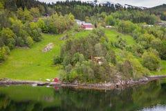 Norwegian Fjord Stock Photos