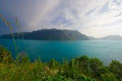Norwegian fjords Royalty Free Stock Photo