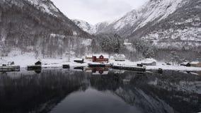 Norwegian Fjords stock footage