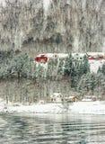 Norwegian Fjords Royalty Free Stock Photos