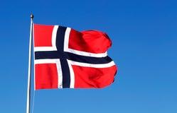 Norwegian flag Stock Photos