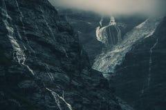 Norwegian Glacier Landscape Stock Photography