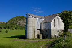 Norwegian Grain Silo 006 Royalty Free Stock Photos