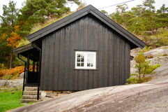 Norwegian guest house, Norway Royalty Free Stock Photos