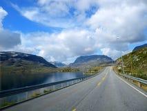 Norwegian Highway Stock Images