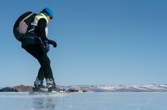 Norwegian hiking skates. Royalty Free Stock Image