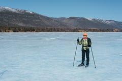 Norwegian hiking skates. Stock Photography