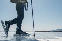 Norwegian hiking skates. Stock Photo