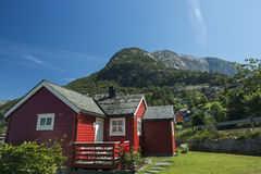 Norwegian house Stock Photo