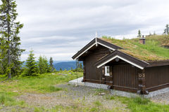 Norwegian houses Stock Photo