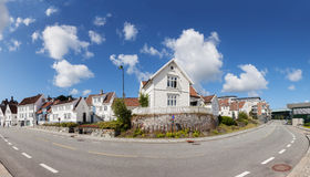 Norwegian Houses Royalty Free Stock Image