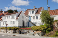 Norwegian Houses Royalty Free Stock Photography