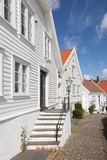 Norwegian Houses Royalty Free Stock Images