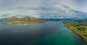 Norwegian islands Royalty Free Stock Photography