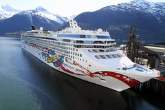 Norwegian Jewel Stock Photography