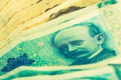 Norwegian Krone Cash. Money Closeup. Krone Banknotes Royalty Free Stock Image