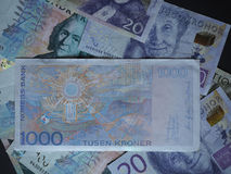 1000 Norwegian Krone NOK note Stock Photo