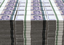 Norwegian Krone Notes Bundles Stack Royalty Free Stock Photography